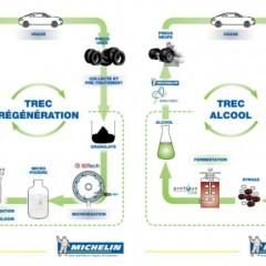 Michelin se met au recyclage de pneus