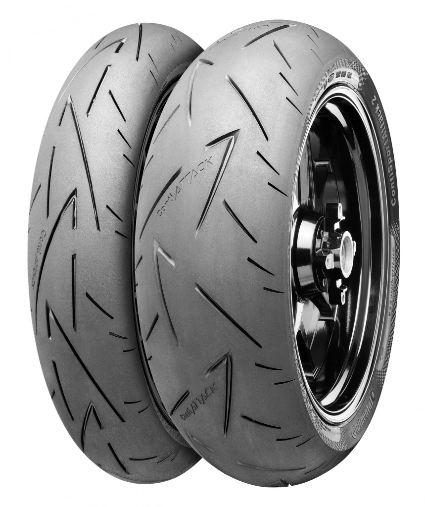 pneu contiroadattack 2 evo