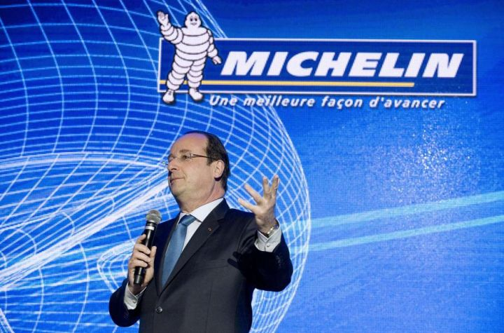 Michelin Francois Hollande