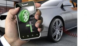 application mobile pression pneu
