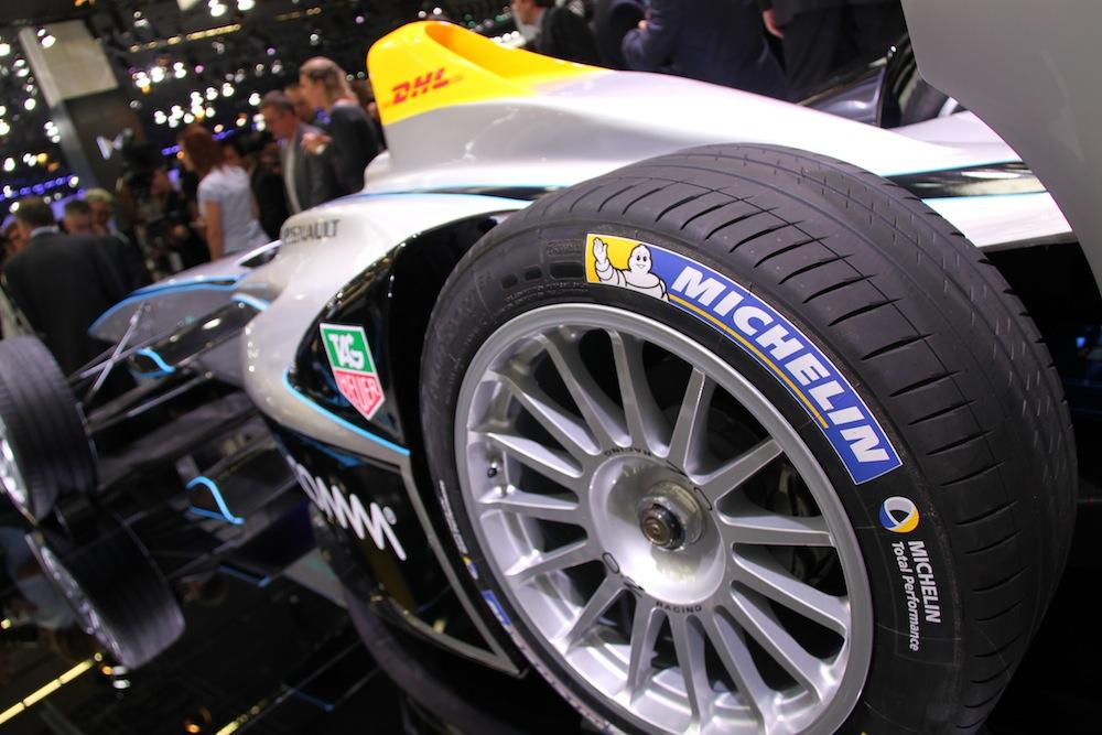 Pneu Michelin - Formule E