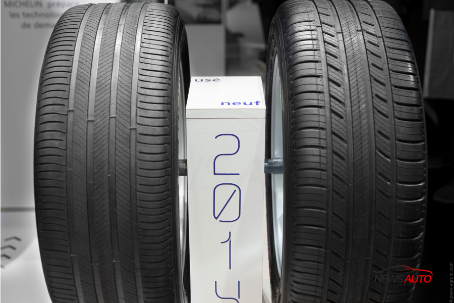 pneu neuf vs pneu usé