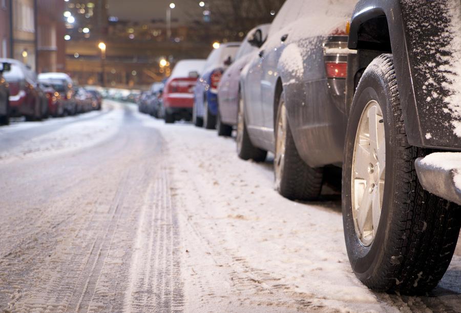 pneu hiver en ville