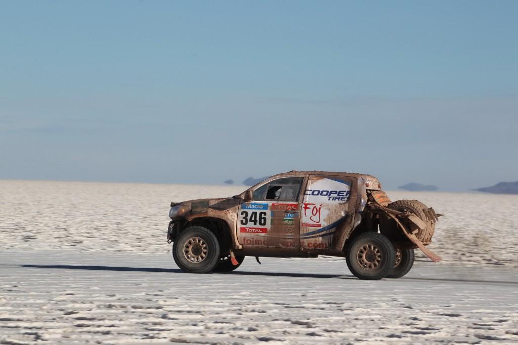 Cooper Dakar 2015