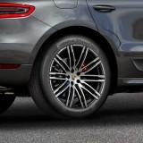Hankook Ventus S1 evo² en monte d'origine sur le Porsche Macan