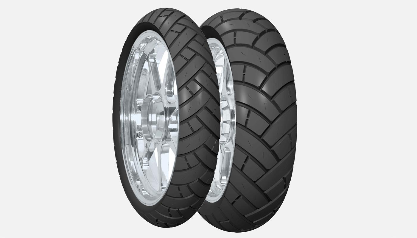 nouveaux pneus Avon TrailRider