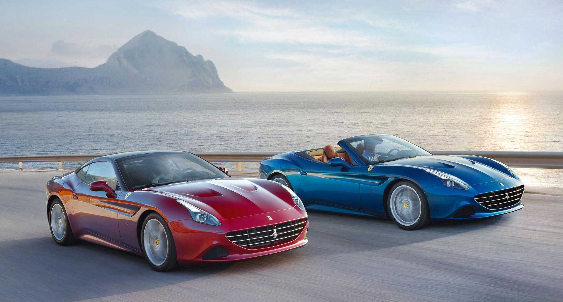Ferrari California T en pneus Bridgestone Potenza S007