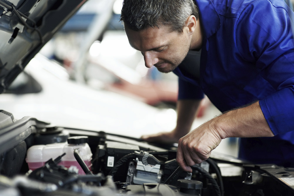 Entretien un moteur Volkswagen